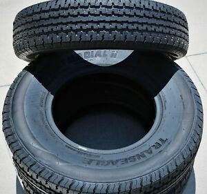 2 Transeagle St Radial Ii Steel Belted St 235 80r16 Load E 10 Ply Trailer Tires