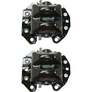 Front Engine Motor Mount Lh Rh Kit Pair Set Of 2 For Chevy Pontiac New