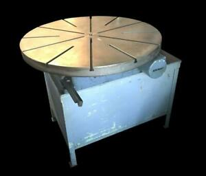 Sip Societe Genevoise Pd 6h 50 50 Motorized Rotary Table
