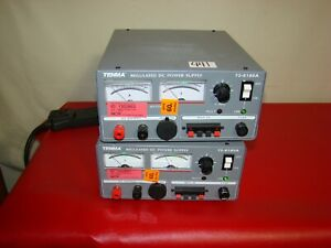 Tenma 72 630a 15v 30 Amp 10 Amp Linear Regulated Dc Power Supply tested Ham