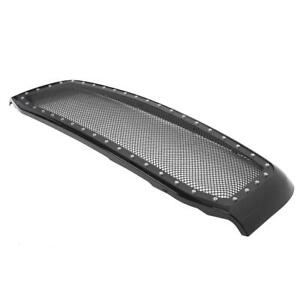 Front Hood Stainless Steel Glossy Black Grille For 2006 2009 Dodge Ram 2500 3500