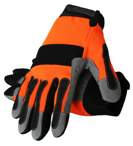 Mechanic Utility Working Safety Heavy Duty Gloves