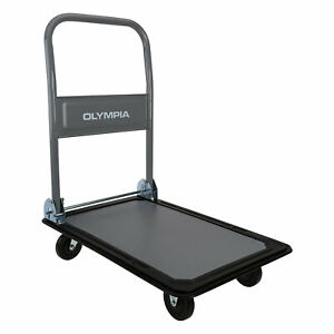 Olympia Tools 87 989 330 Pound Capacity Rolling Dolly Platform Utility Cart