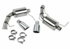Roush 421127 2011 2014 Mustang Gt 2011 12 Gt 500 Axle Back Exhaust System Tips