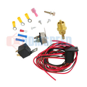 New Radiator Engine Fan Thermostat Temperature Switch Relay Kit 427 454 For 3 8