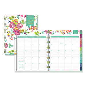Day Designer For Blue Sky 2019 2020 Academic Year Weekly Monthly Planner Flex