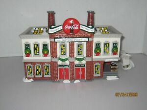 Dept 56 Coca Cola Bottling Co Snow Village