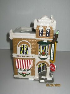 Dept 56 Coca Cola Drugstore and Soda Fountain