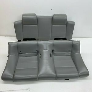 2005 2009 Oem Ford Mustang Convertible Base Rear Grey Back Seats s6928