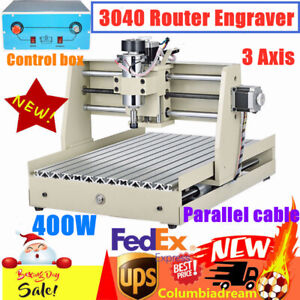 3 Axis Cnc 3040 Router Engraver Wood Drill Milling Engraving 3d Cutting Machine