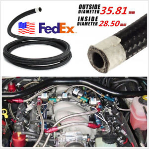 Vehicle Suv An20 20an Transimission Oil Fuel Line Braided Hose 1m 3 3ft Usa Ship