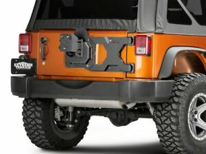 Barricade Hd Tire Carrier With Mount 07 18 Jeep Wrangler Jk