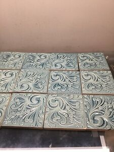 12 Hamilton Antique Decorated Tile Victorian Can Sell Separate