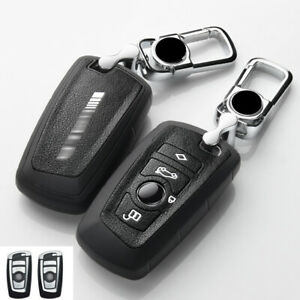 Black Car Key Fob Case Cover Holder For Bmw 1 2 3 4 5 6 Series F30 M3 F20 F30 X3