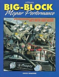 Bb Mopar Engine Performance Book 383 413 426 Hemi 440