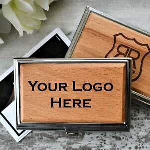 Business Card Holder Personalized Business Card Holder Wood Card Holder