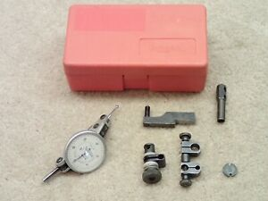 Interapid 312b 1 Horizontal Dial Test Indicator Made In Switzerland With Extras