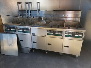 Pitco Fryer Solstice Sg 14 4 Well W Filter i 12 Computers 4 Fryer Baskets