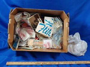 Huge Lot Vtg Dental Dentist Tools Dentures Teeth Molds Advertising Tools Mcm Old