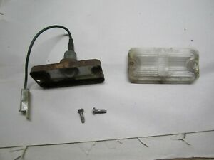 1963 Cadillac License Plate Light Assembly