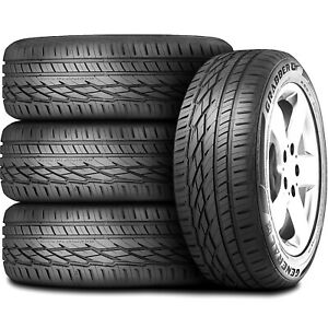 4 New General Grabber Gt 235 60r17 102v Tires