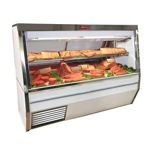 Howard mccray R cms34n 8 led 96 Red Meat Deli Display Case