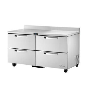 True Twt 60d 4 hc spec3 60 Work Top Refrigerated Counter