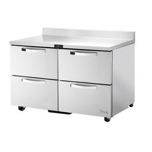 True Twt 48d 4 ada hc spec3 48 Work Top Refrigerated Counter