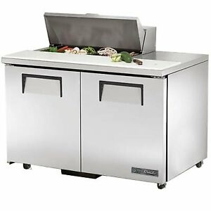 True Tssu 48 08 ada hc 48 Sandwich Salad Unit Refrigerated Counter