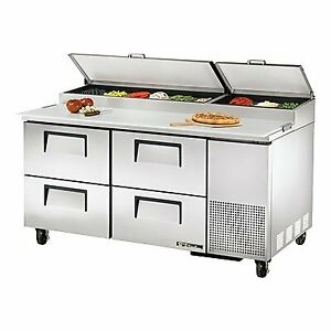 True Tpp at 67d 4 hc 67 Pizza Prep Table Refrigerated Counter