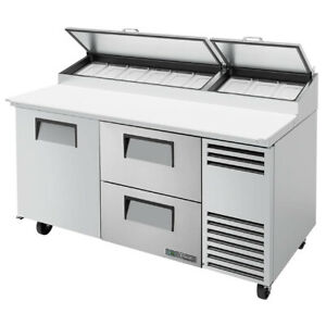 True Tpp at 67d 2 hc 67 Pizza Prep Table Refrigerated Counter