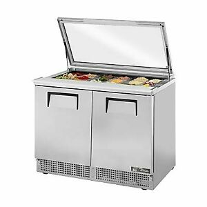 True Tfp 48 18m fglid 48 Mega Top Sandwich Salad Unit Refrigerated Counter