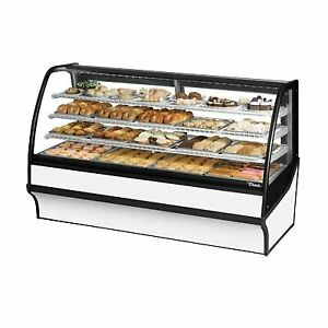 True Tdm dc 77 ge ge w w 77 Non refrigerated Bakery Display Case