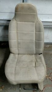 Manual Seat Driver Side Xj Jeep Cherokee 1993 1994 1995 1996 Beige Pick Up Only