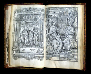 C 1510 Book Of Hours And Calendar France Hardouyn 91 Leaves 22 Miniatures