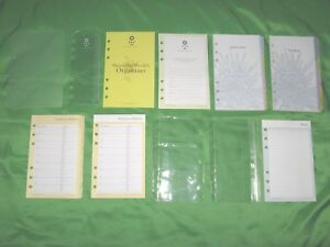 Compact 1 Year Undated Refill Floral Tab Page Lot Franklin Covey 365 Planner