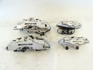 05 Mercedes R230 Sl55 Brake Calipers Amg Brembo Front And Rear Set Oem