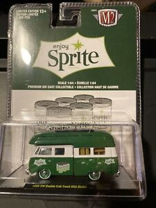 M2 Machines Limited Edition Sprite 1959 Vw Double Cab Truck Usa Model New