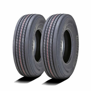 2 New Freedom Hauler Dutymax All Steel St 225 75r15 Load G 14 Ply Trailer Tires