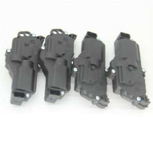 Set Of 4 Power Door Lock Actuators Fit For Ford F150 F250 F350 Excursion Mercury