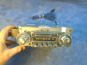 Serviced W Warranty 70 71 72 Oldsmobile Cutlass 442 Delco Am Fm Stereo Radio