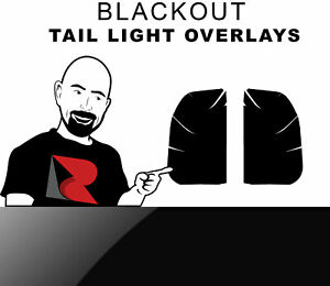Rtint Tail Light Tint Overlay For Ford F 350 2008 2015 Blackout Smoke