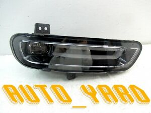 Genuine 2017 2019 Jeep Grand Cherokee Full Led Fog Light Right passenger Oem