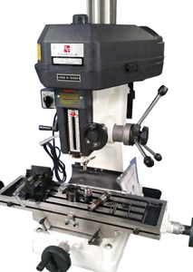 New Rong fu 8 X 28 Rf 31 Mill drill Machine With Cabinet Stand