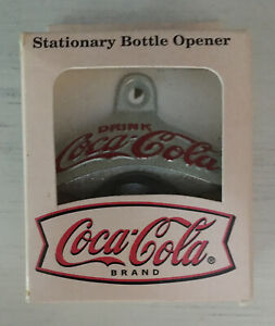 Coca-Cola Wall Mount Bottle Opener Starr Collections Soda Decor