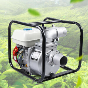 Gas Powered Water Transfer Pump 7 5hp 4stroke Engine For Garden Farm Irrigation
