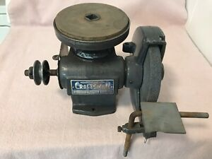 Vintage Sears Craftsman Drill Tool Grinder Sharpening Machine Shop Lathe Tool