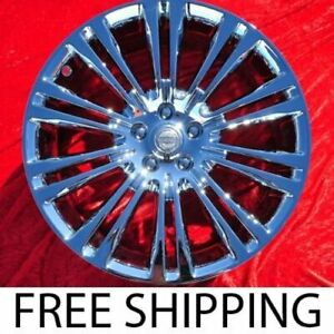 Exchange Set Of 4 New Chrome 20 Chrysler 300 Rwd Factory Oem Wheels Rims 2420