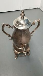 Antique F B Rogers Silver Co 4354 Electric Teapot Extremely Rare