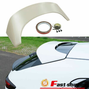 Fits 19 20 Mazda 3 Hatchback 5dr Ms style Rear Roof Spoiler Wing abs
